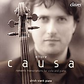 Romantic Transcriptions for Viola / Ettore Causa, et al