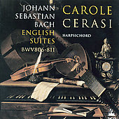 Bach: English Suites / Carole Cerasi