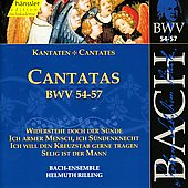 Bach: Cantatas, BWV 54-57