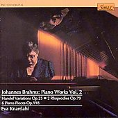 Brahms. Piano Works Vol. 2