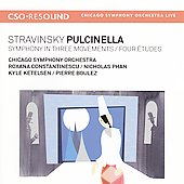 Igor Stravinsky: Pulcinella; Symphony In Three