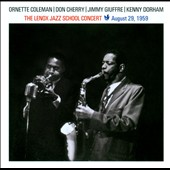 Ornette Coleman: The Lenox Jazz School Concert: August 29, 1959