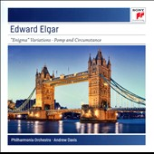 Elgar: Enigma Variations Op. 36; Pomp & Circumstance Marches Op. 39, Nos. 1-5 / Andrew Davis, Philharmonia Orch.
