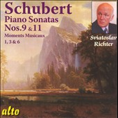 Schubert: Piano Sonatas Nos. 9 & 11; Moments Musicaux / Richter