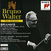 Bruno Walter Edition - Brahms: German Requiem, Alto Rhapsody