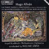 Alfv&#233;n: The Three Swedish Rhapsodies, etc / Neeme J&#228;rvi