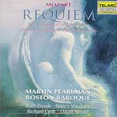 Mozart: Requiem / Pearlman, Boston Baroque