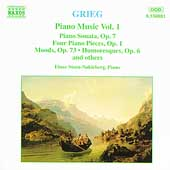 Grieg: Piano Music Vol 1 / Einar Steen-Nökleberg