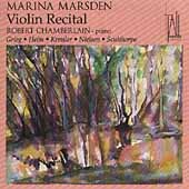 Violin Recital / Marina Marsden, Robert Chamberlain