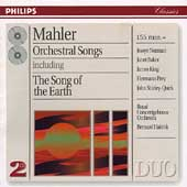 Mahler: Orchestral Songs / Haitink, Norman, Baker, King