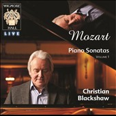 Mozart: Piano Sonatas Vol. 1 / Christian Blackshaw, piano