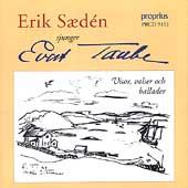 Evert Taube: Songs, Ballads and Waltzes / Saeden, Lindblom