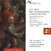 Bach: Brandenburg Concertos, etc / Christopher Hogwood