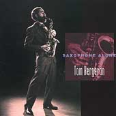 Saxophone Alone - Britten, Telemann, White / Bergeron