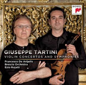 Giuseppe Tartini: Violin Concertos and Symphonies
