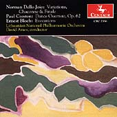 Dello Joio: Variations;  Creston, Bloch / David Amos, et al