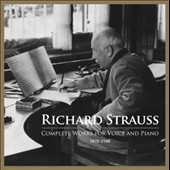 Richard Strauss: Complete Works for Voice and Piano / various artists incl. Banse, Elsner, Fassbaender, Libor et al. [9 CDs]