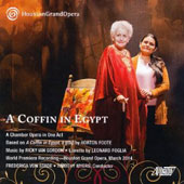 Ricky Ian Gordon (b.1956): A Coffin Egypt / Frederica von Stade, David Matranga, Caroly Johnson, Cecilia Duarte. Houston Grand Opera