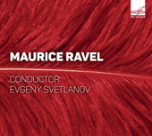 Maurice Ravel (1875-1937): Symphonic Works / The USSR State Academic SO, Evgeny Svetlanov