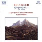 Bruckner: Symphony no 7 / Georg Tintner, Royal Scottish NO