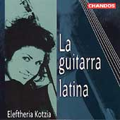 La guitarra latina / Eleftheria Kotzia