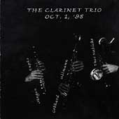 Clarinet Trio: October 1, '98