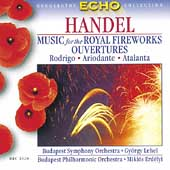 Handel: Music for the Royal Fireworks, etc / Erdélyi, et al