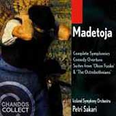 Madetoja: Complete Symphonies, etc /Petri Sakari, Iceland SO