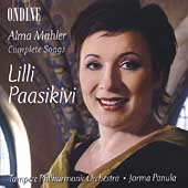 A. Mahler: Complete Songs / Paasikivi, Panula, Tampere PO