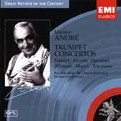 Handel, Haydn, et al: Trumpet Concertos / Maurice Andr&#233;