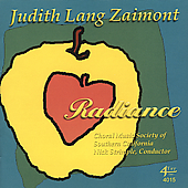 Zaimont: Radiance / Strimple, et al