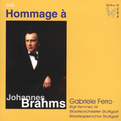 Homage to Brahms / Gabriele Ferro, et al