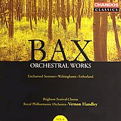 Bax: Orchestral Works Vol 8 / Handley, Royal PO, et al