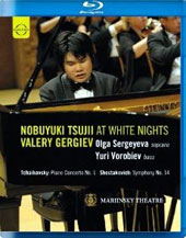 At White Nights - Tchaikovsky, Rachmaninov, Shostakovich, Tsujii / Nobuyuki Tsujii, piano [Blu-Ray]