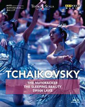 Tchaikovsky: The Nutcracker, Swan Lake, Sleeping Beauty / Tsygankova, Golding, Stout, Tietze et al.; Dutch National Ballet; Holland Symhonia; Florio [Blu-ray]