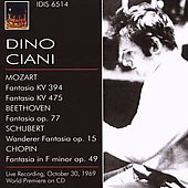 Mozart, Beethoven, Schubert, Chopin: Piano Works / Cianisss