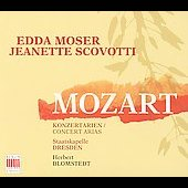 Mozart: Concert Arias / Blomstedt, Moser, et al