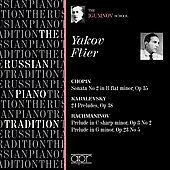 The Russian Piano Tradition - Yakov Flier