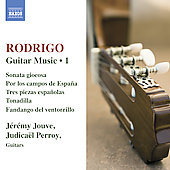 Rodrigo: Guitar Music, Vol 1 / Jouve, Perroy