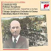 Ives: Holiday Symphony, etc / Tilson Thomas, Chicago SO