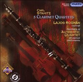 Carl Stamitz: 5 Clarinet Quartets