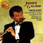 James Galway Plays Mozart: Concerto no 1, etc