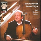 Mikl&oacute;s Per&eacute;nyi, D&eacute;nes V&aacute;rjon play Bach, Brahms, Britten