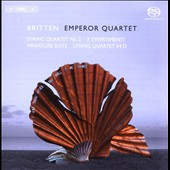 Britten: String Quartet No. 2; 3 Divertimenti; Miniature Suite; String Quartet in D