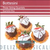 Bottesini: 3 String Quartets / Quartteto Elisa