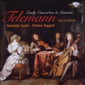 Telemann: Early Concertos & Sonatas / Ensemble Cordia