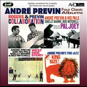 André Previn (Conductor/Piano): West Side Story/Collaboration/King Size/Pal Joey