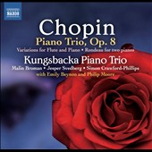 Chopin: Piano Trio Op. 8; Variations for flute & piano; Rondeau for two pianos / Emily Beynon, flute