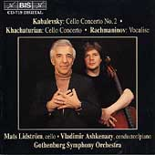 Kabalevsky, Khachaturian: Cello Concertos / Lidstr&#246;m, et al