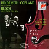Isaac Stern - A Life in Music - Hindemith, Copland, Bloch